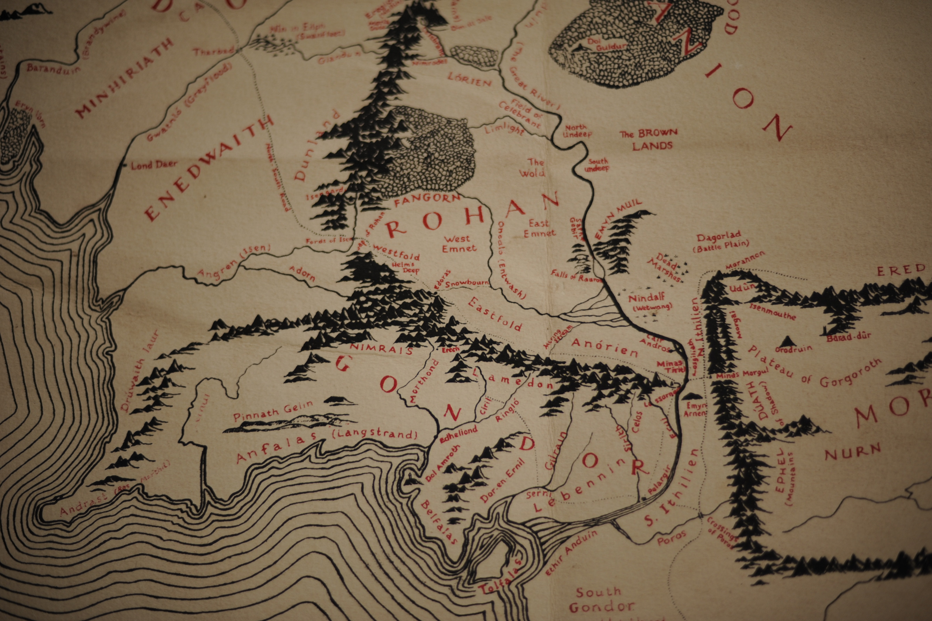 One Map to Rule Them All  Basement INK is Now SCREEN INK